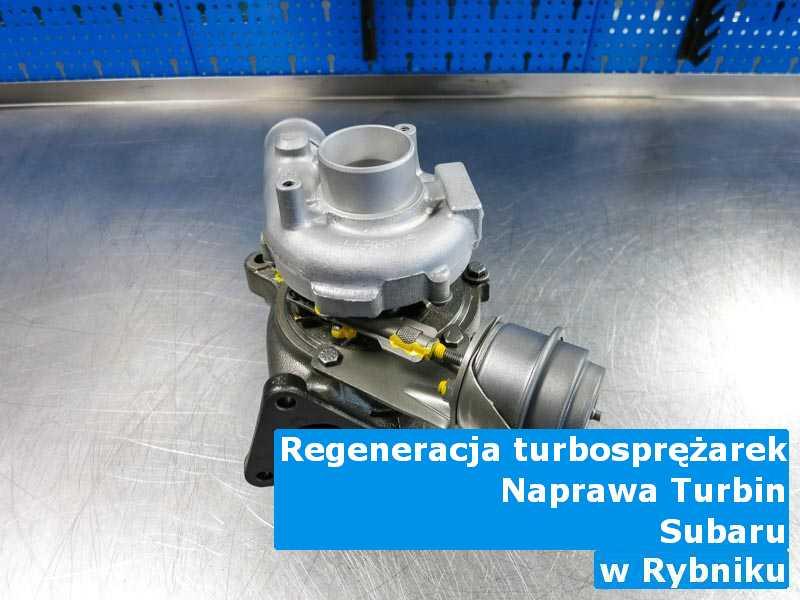 Turbiny z samochodu Subaru dostarczone do zakładu regeneracji z Rybnika