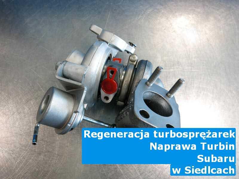 Turbosprężarki z pojazdu marki Subaru po wizycie w ASO z Siedlec