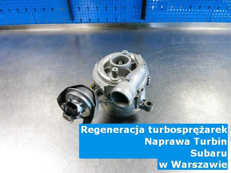 Turbina marki Subaru z przywróconymi osiągami w Warszawie