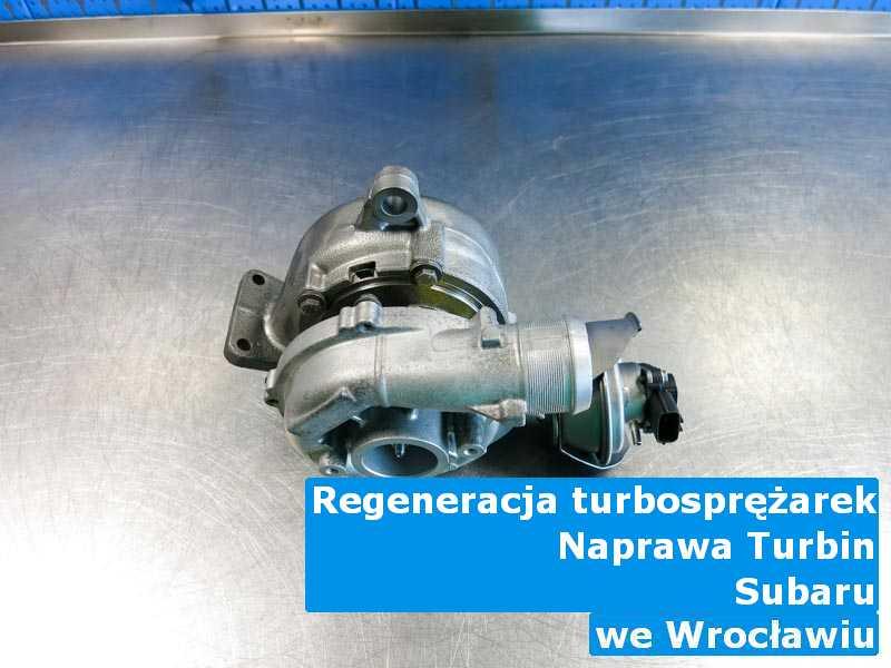 Turbo marki Subaru czyszczone pod Wrocławiem