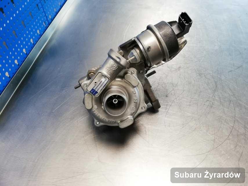Naprawiona w przedsiębiorstwie w Żyrardowie turbina do osobówki firmy Subaru przygotowana w pracowni naprawiona przed spakowaniem