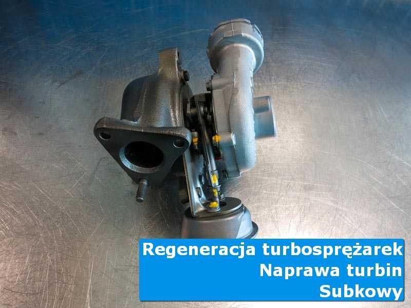 Układ turbodoładowania po przygotowaniu u specjalistów w Subkowach
