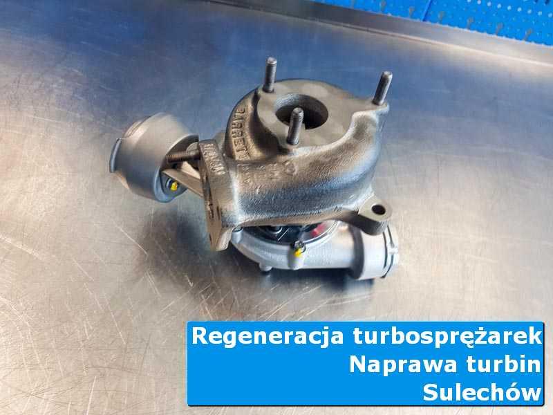 Układ turbodoładowania po wymianie w profesjonalnym serwisie z Sulechowa