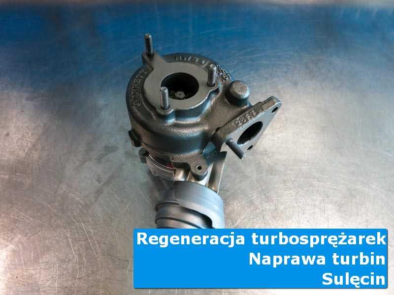 Układ turbodoładowania po regeneracji w profesjonalnym serwisie z Sulęcina