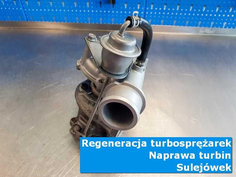 Układ turbodoładowania po demontażu u specjalistów z Sulejówka