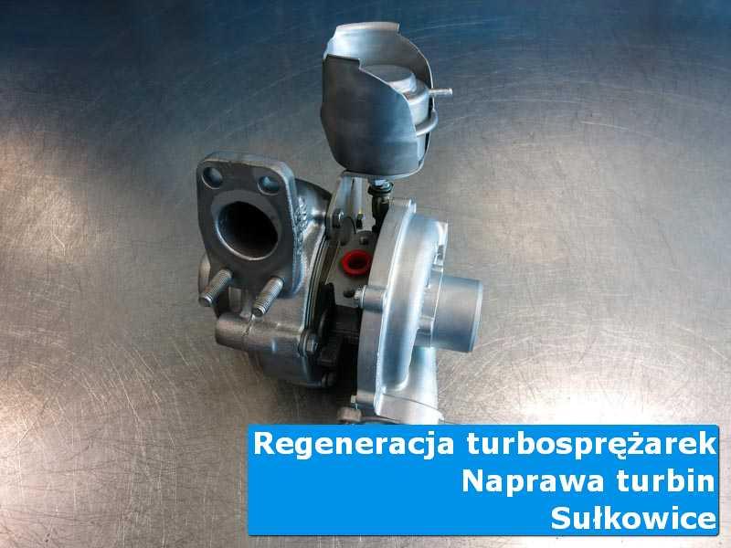 Układ turbodoładowania po przygotowaniu w pracowni w Sułkowicach