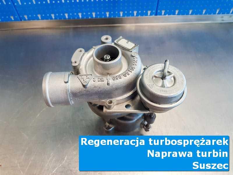 Układ turbodoładowania przed oddaniem do klienta u fachowców z Suszca