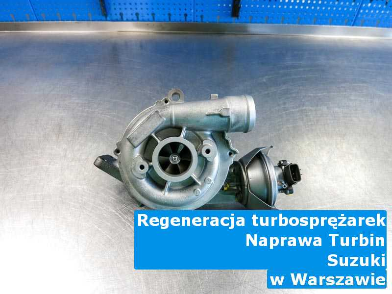 Turbosprężarki marki Suzuki dostarczone do pracowni z Warszawy