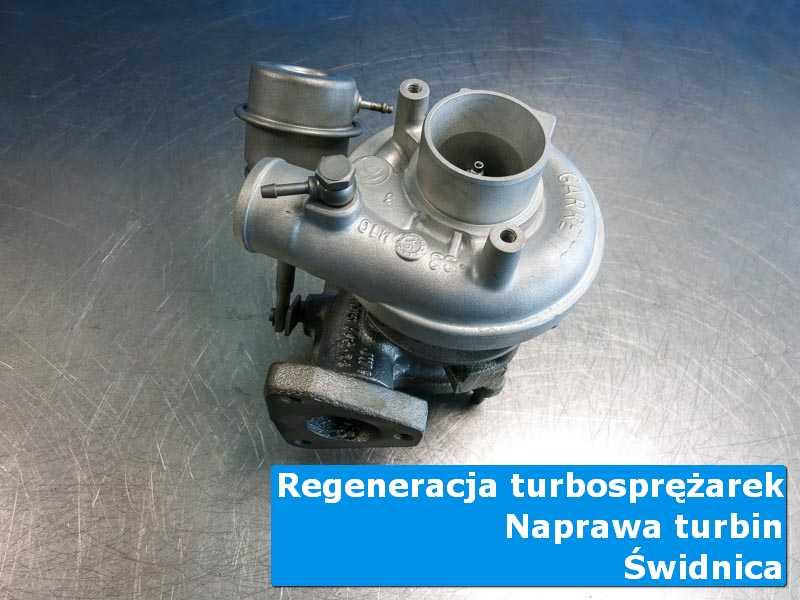 Układ turbodoładowania po regeneracji w pracowni w Świdnicy