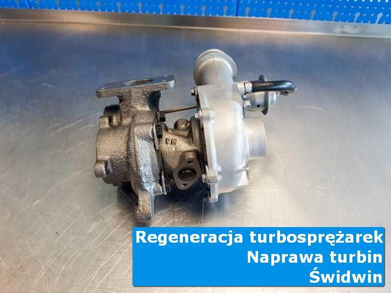 Układ turbodoładowania przed wymianą w autoryzowanym serwisie z Świdwina