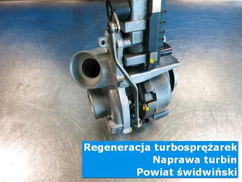 Turbosprężarka po czyszczeniu u specjalistów, powiat świdwiński