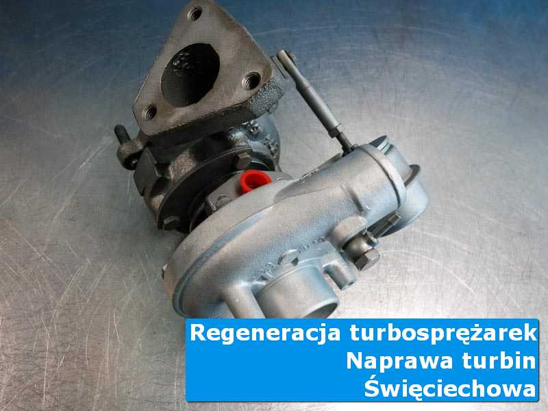 Układ turbodoładowania po naprawie w autoryzowanym serwisie z Święciechowy
