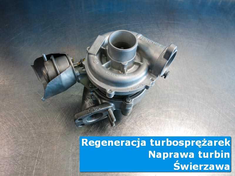 Układ turbodoładowania przed demontażem u fachowców z Świerzawę
