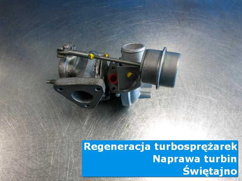 Układ turbodoładowania po demontażu u fachowców w Świętajnie