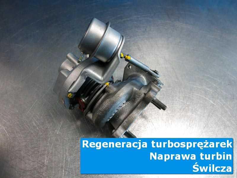 Układ turbodoładowania po serwisie w pracowni w Świlczy