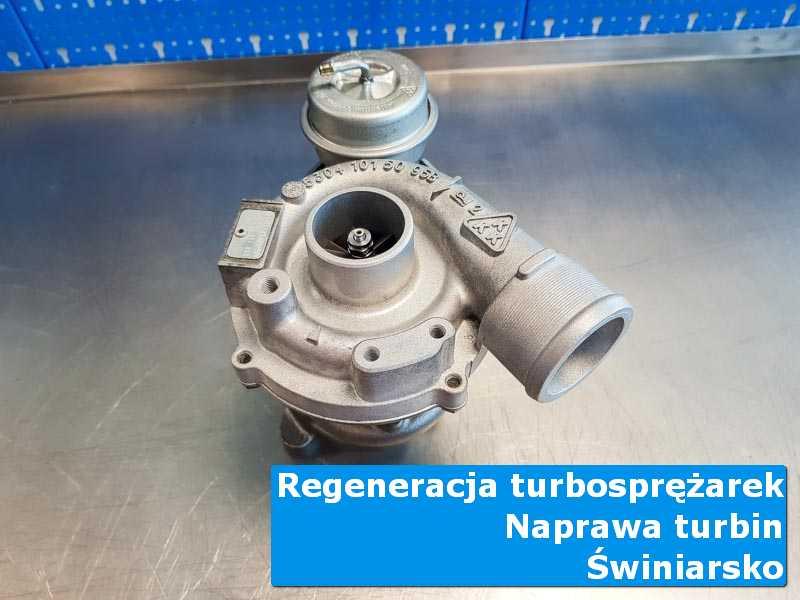 Turbosprężarka przed oddaniem do klienta w autoryzowanej pracowni z Świniarska
