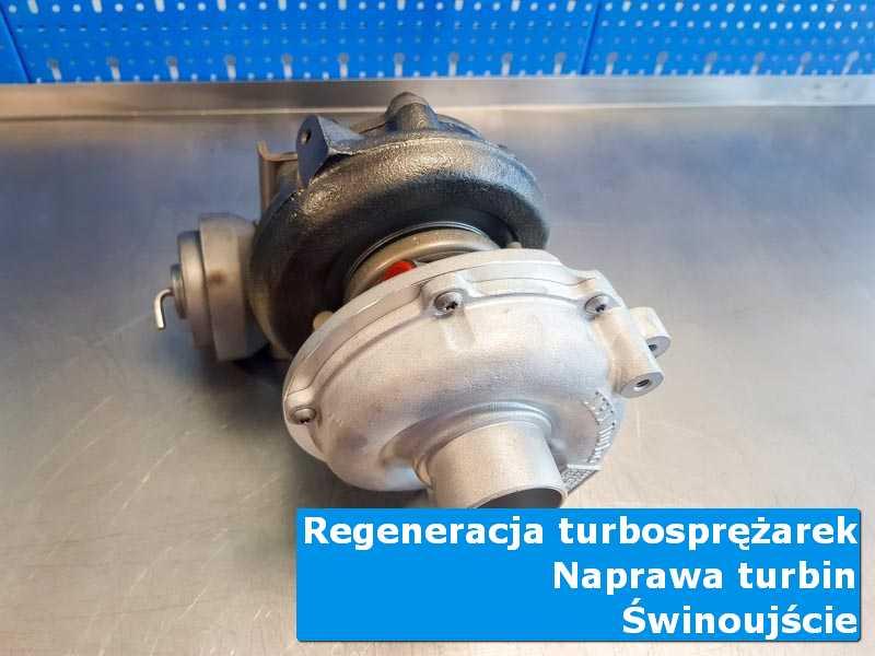 Układ turbodoładowania po regeneracji w profesjonalnym serwisie w Świnoujściu