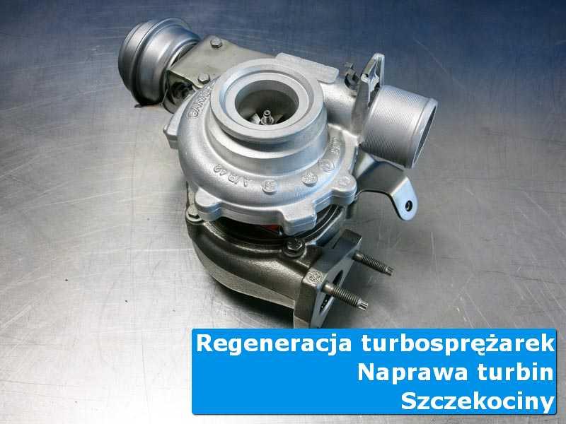 Turbosprężarka przed montażem w pracowni z Szczekocin