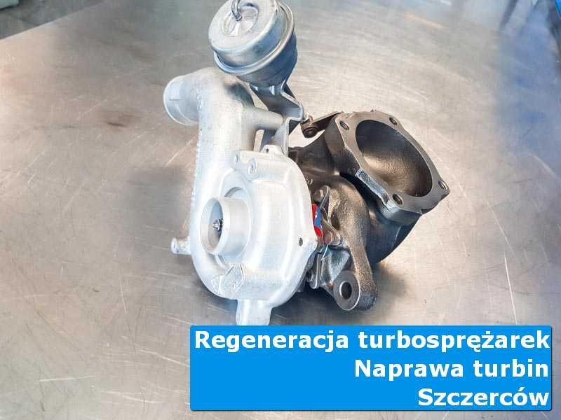 Turbosprężarka przed demontażem w autoryzowanej pracowni z Szczercowa