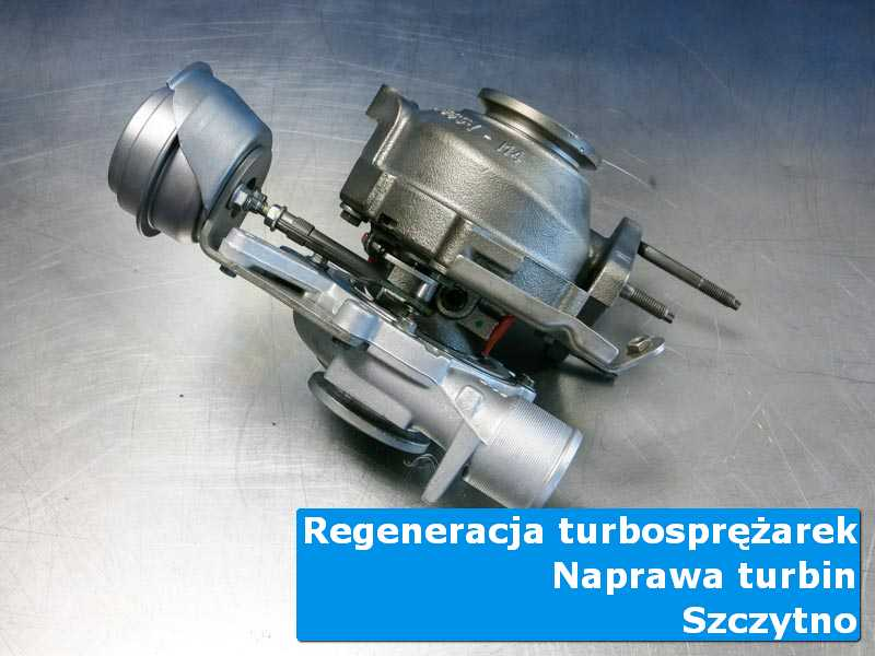 Układ turbodoładowania po demontażu w specjalistycznej pracowni w Szczytnie