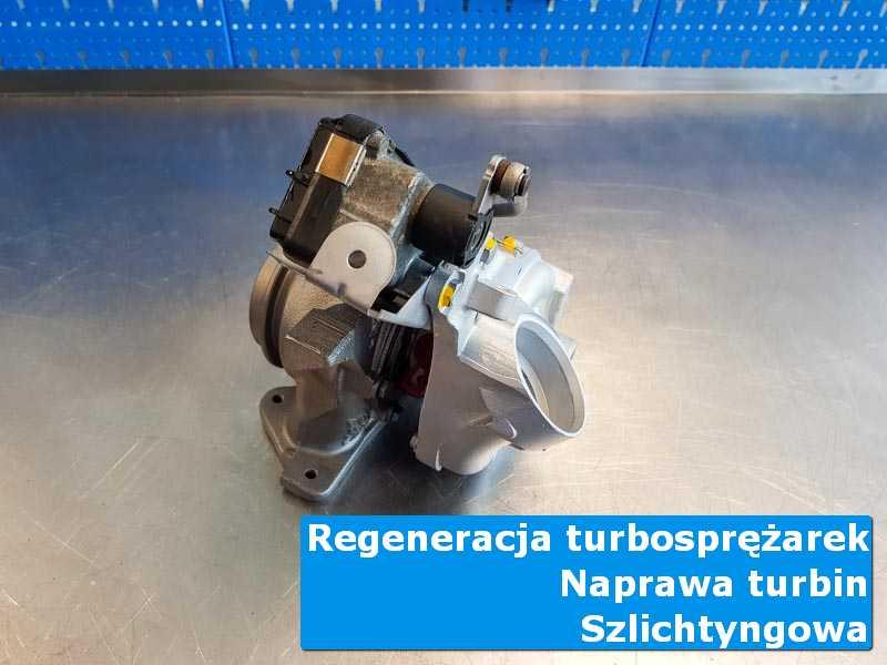 Układ turbodoładowania po naprawie u specjalistów w Szlichtyngowej