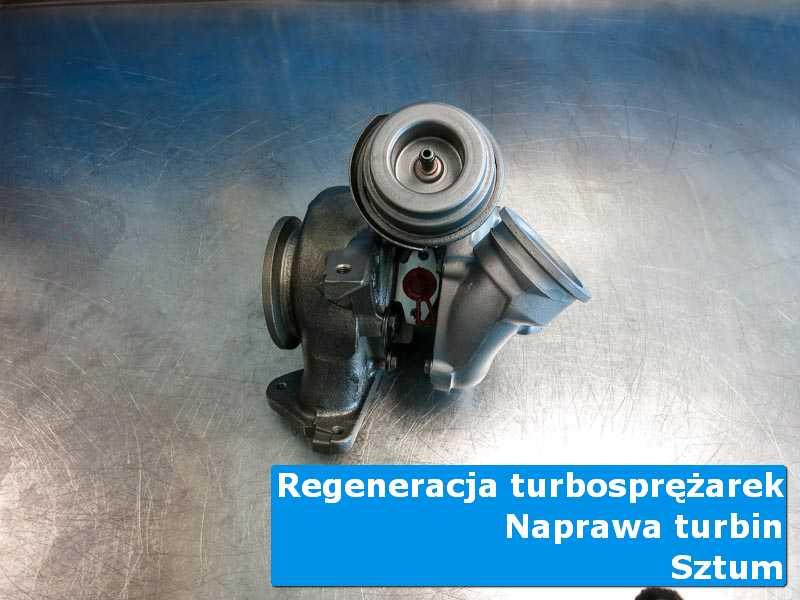 Układ turbodoładowania po serwisie w warsztacie z Sztumu