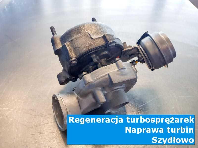 Turbosprężarka przed wymianą w nowoczesnej pracowni w Szydłowie
