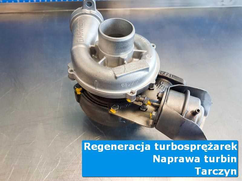 Układ turbodoładowania przed demontażem w autoryzowanym serwisie w Tarczynie
