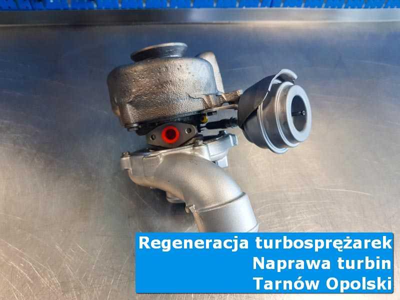 Układ turbodoładowania przed pakowaniem w specjalistycznej pracowni z Tarnowa Opolskiego