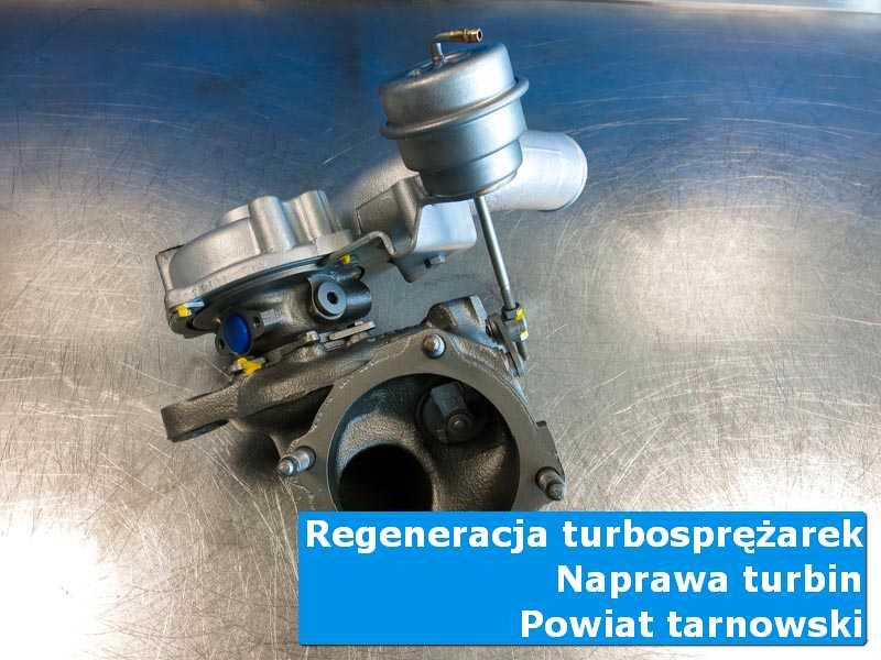 Turbina po przywróceniu sprawności w laboratorium, powiat tarnowski