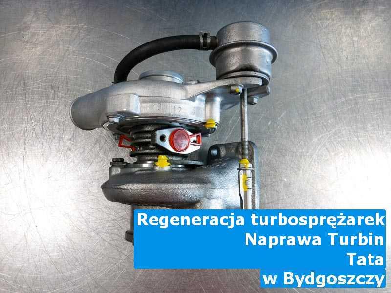 Turbosprężarka z pojazdu marki TATA po sprawdzeniu w Bydgoszczy