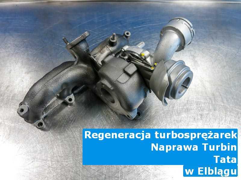 Turbosprężarki z samochodu TATA naprawione po awarii pod Elblągiem