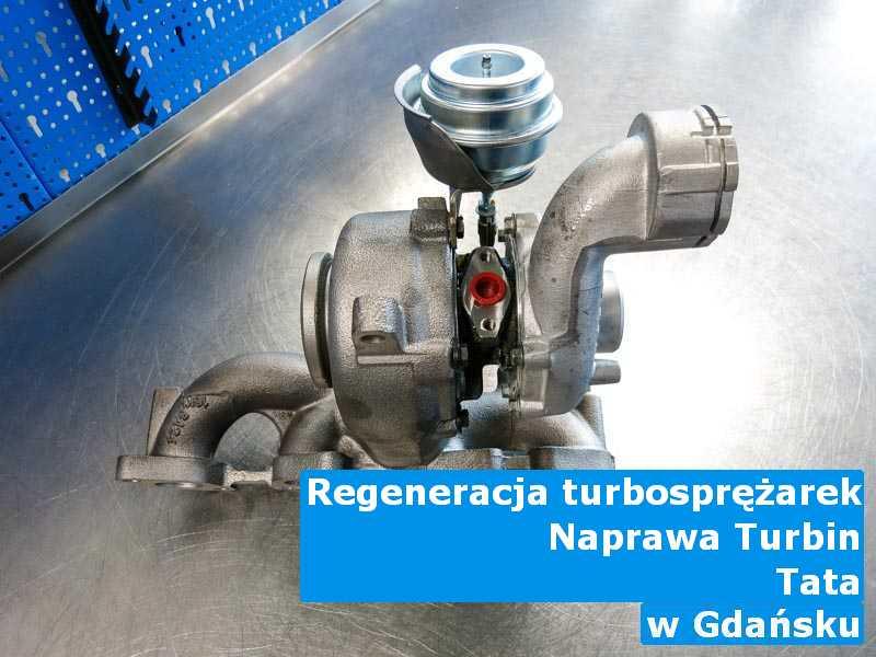 Turbo z samochodu TATA zregenerowane pod Gdańskiem
