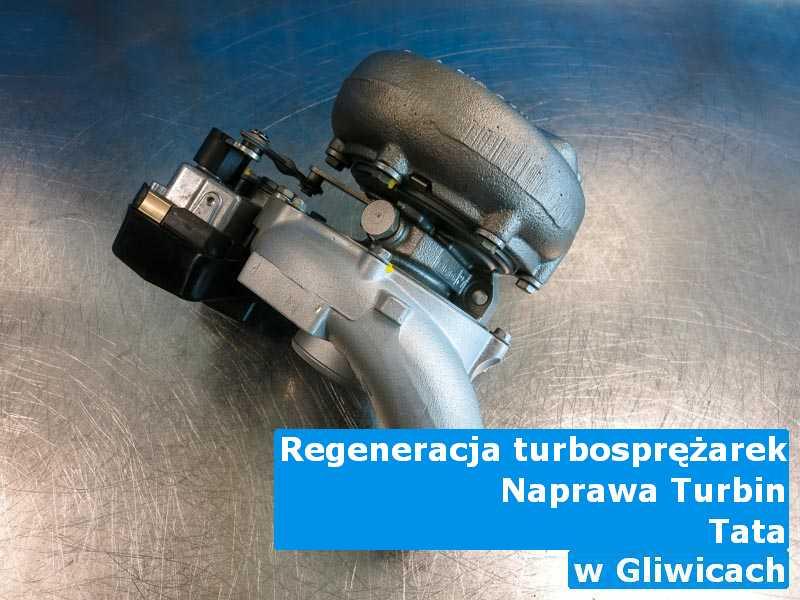 Turbo z pojazdu marki TATA dostarczone do zakładu regeneracji w Gliwicach