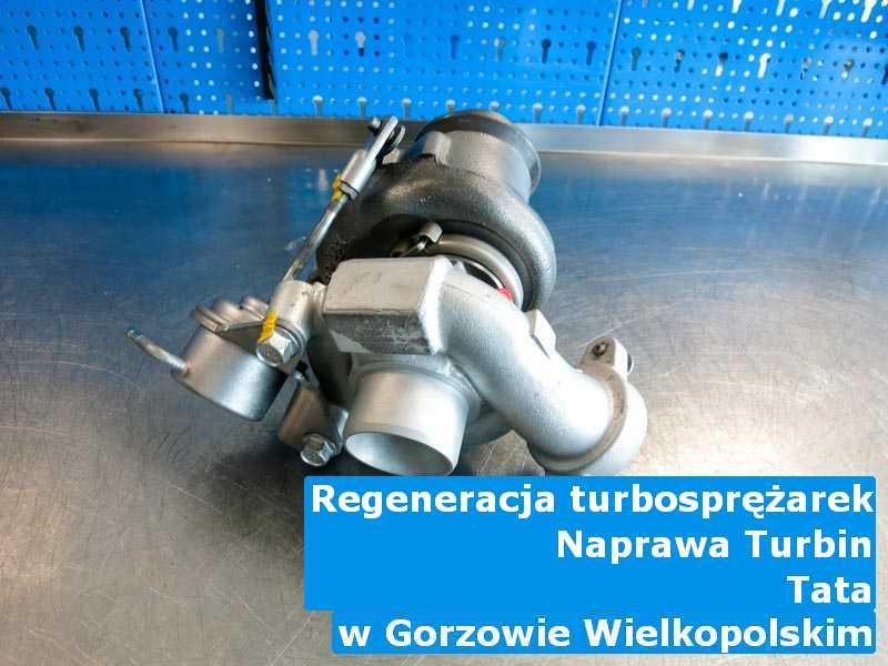 Turbosprężarka marki TATA po regeneracji w Gorzowie Wielkopolskim