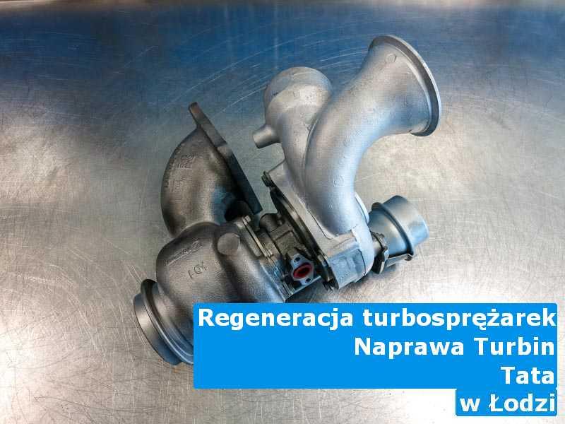 Turbosprężarka z pojazdu marki TATA naprawiona z Łodzi