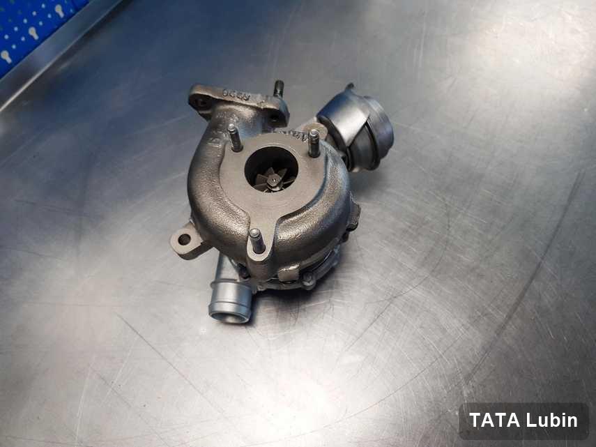 Wyremontowana w firmie zajmującej się regeneracją w Lubinie turbina do samochodu koncernu TATA przyszykowana w warsztacie po regeneracji przed wysyłką
