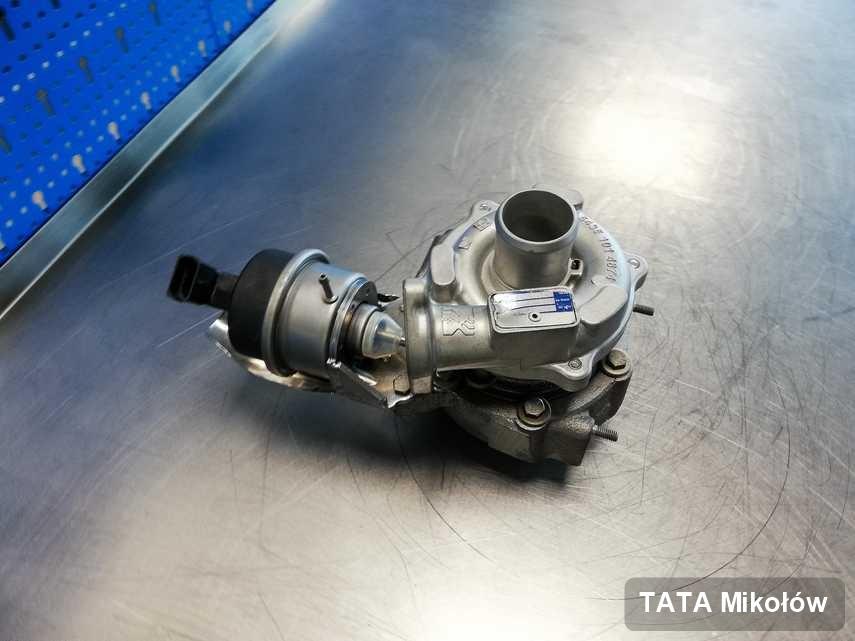 Wyczyszczona w przedsiębiorstwie w Mikołowie turbina do samochodu producenta TATA przyszykowana w warsztacie po naprawie przed nadaniem