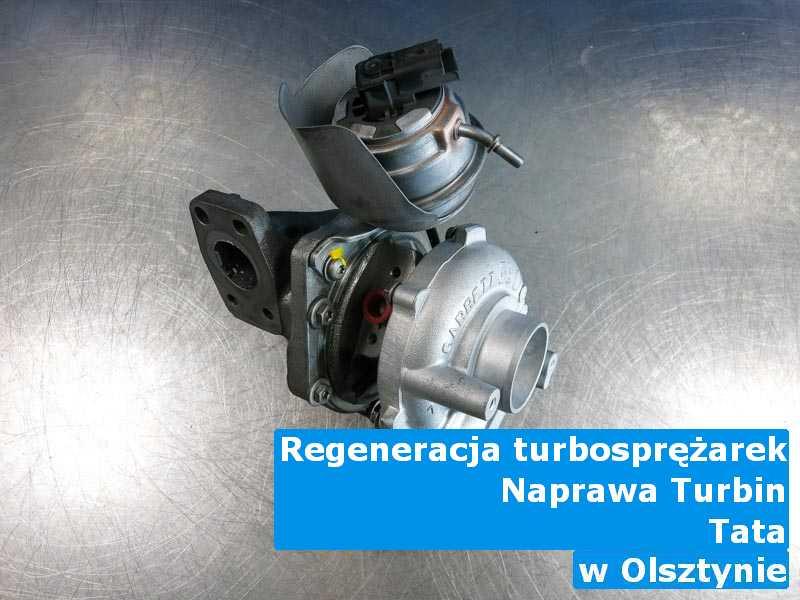 Turbo z samochodu TATA remontowane pod Olsztynem