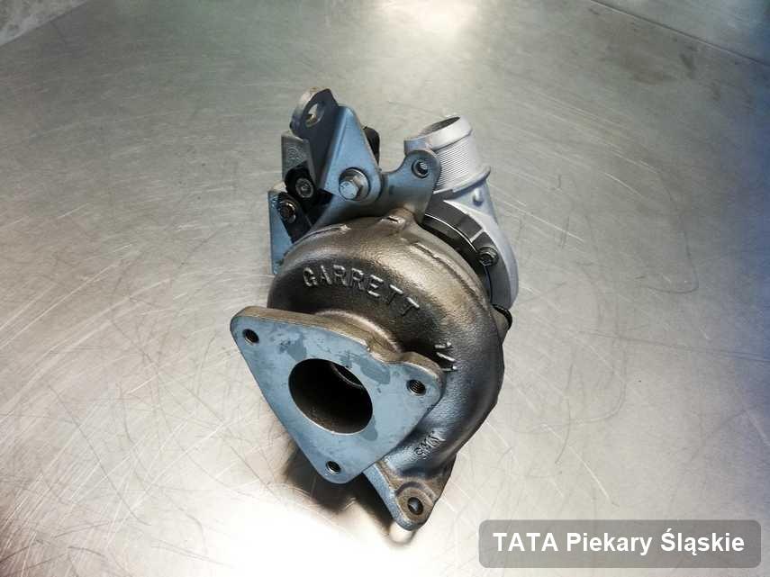 Wyremontowana w przedsiębiorstwie w Piekarach Śląskich turbina do samochodu marki TATA przyszykowana w laboratorium po naprawie przed spakowaniem