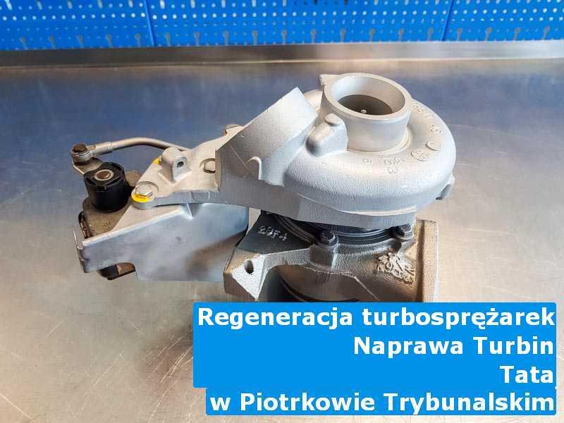 Turbosprężarki z pojazdu marki TATA zdiagnozowane z Piotrkowa Trybunalskiego