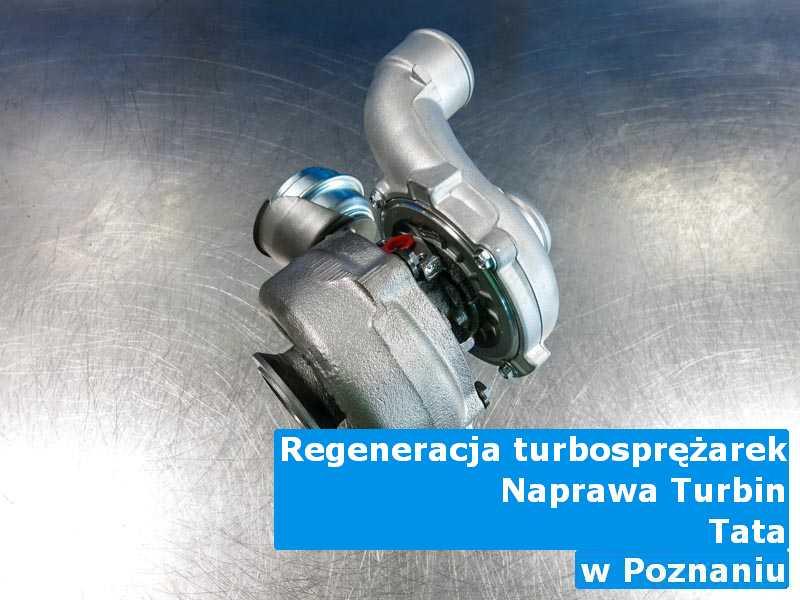 Turbina z pojazdu marki TATA wyremontowana z Poznania