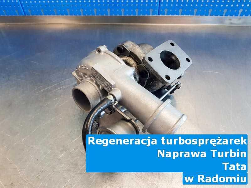 Turbosprężarki z samochodu TATA wysłane do diagnostyki pod Radomiem