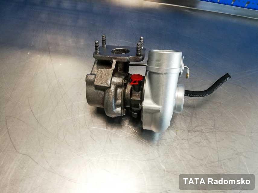 Wyremontowana w pracowni regeneracji w Radomsku turbina do aut  firmy TATA przygotowana w pracowni naprawiona przed spakowaniem