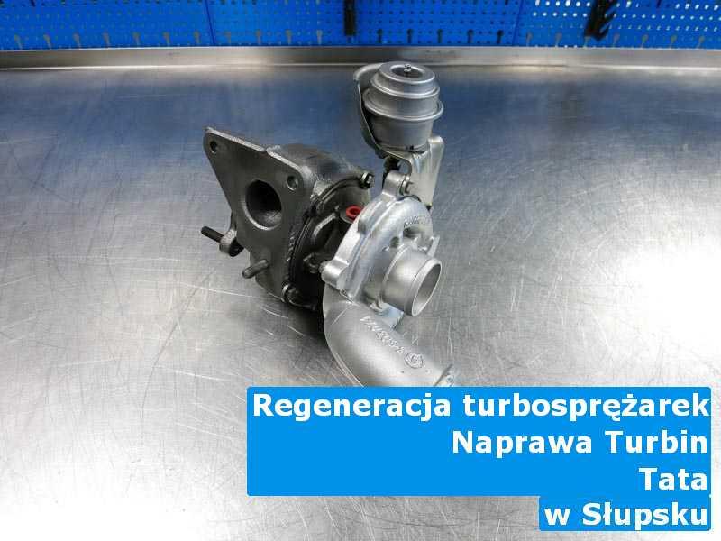 Turbosprężarki z auta TATA z przywróconymi osiągami z Słupska