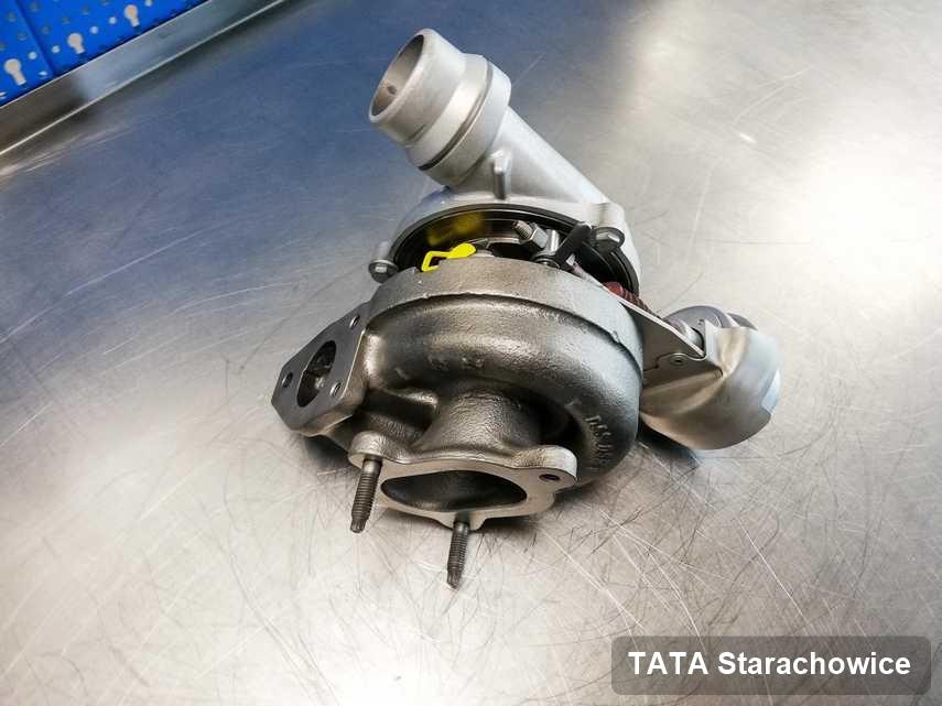 Wyczyszczona w pracowni w Starachowicach turbina do osobówki koncernu TATA przyszykowana w laboratorium naprawiona przed wysyłką