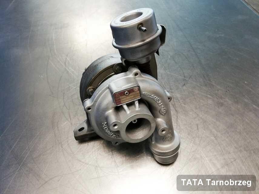 Wyremontowana w laboratorium w Tarnobrzegu turbina do pojazdu firmy TATA przyszykowana w warsztacie zregenerowana przed wysyłką