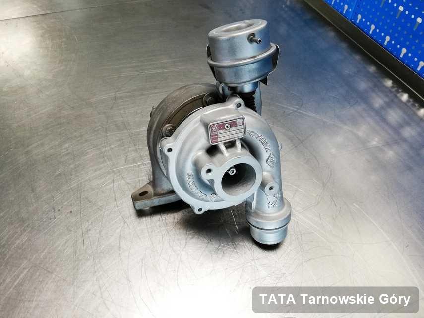 Zregenerowana w firmie zajmującej się regeneracją w Tarnowskich Górach turbosprężarka do aut  spod znaku TATA przyszykowana w warsztacie zregenerowana przed spakowaniem