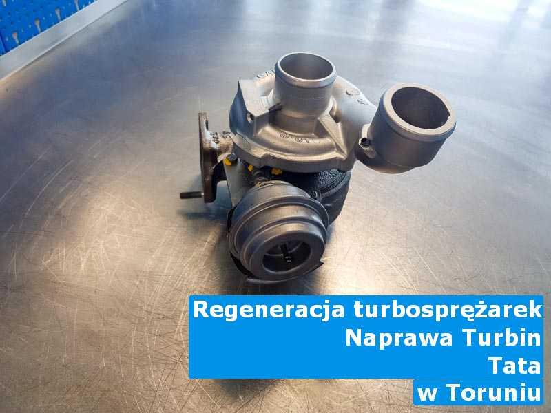 Turbosprężarki z samochodu TATA wysłane do regeneracji z Torunia