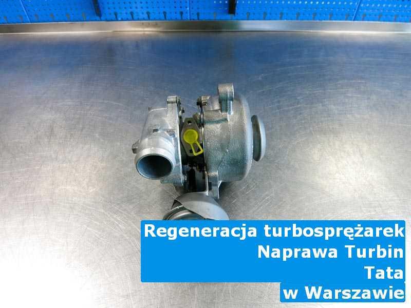 Turbosprężarki z pojazdu marki TATA zrobione w Warszawie
